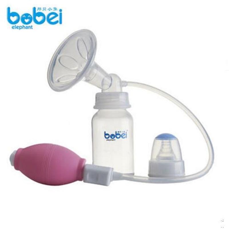 blue manual breast pump