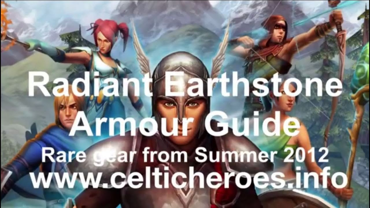 celtic heroes armour guide