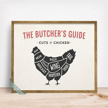 butchers guide poster