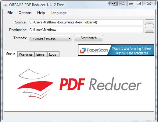 batch compress pdf