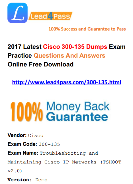 ccnp switch 300 115 latest dumps pdf