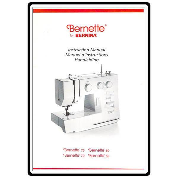 bernette 680 sewing machine manual