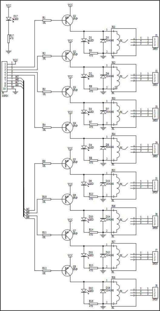 8 relay module datasheet pdf