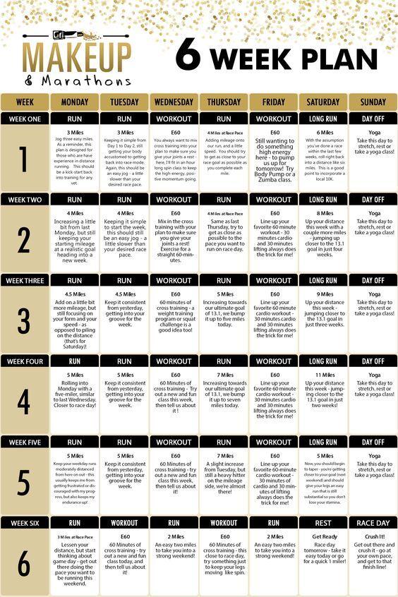 8 week running program pdf