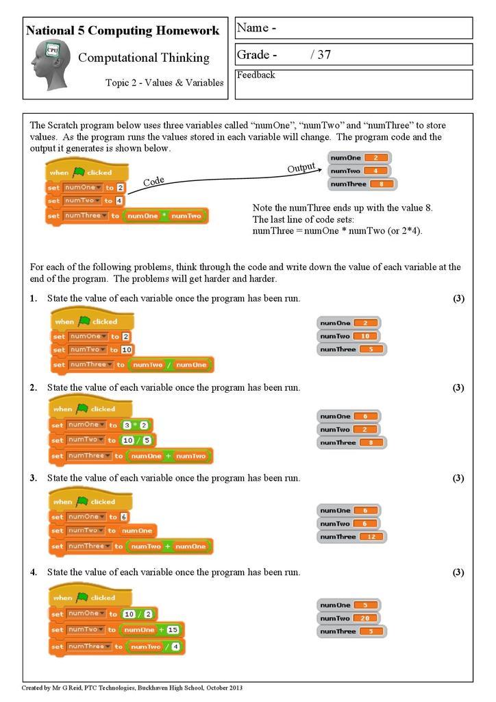 computational thinking pdf