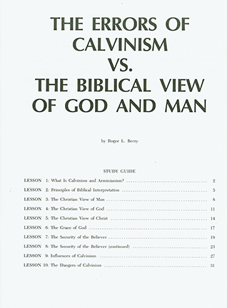 calvinism vs arminianism pdf