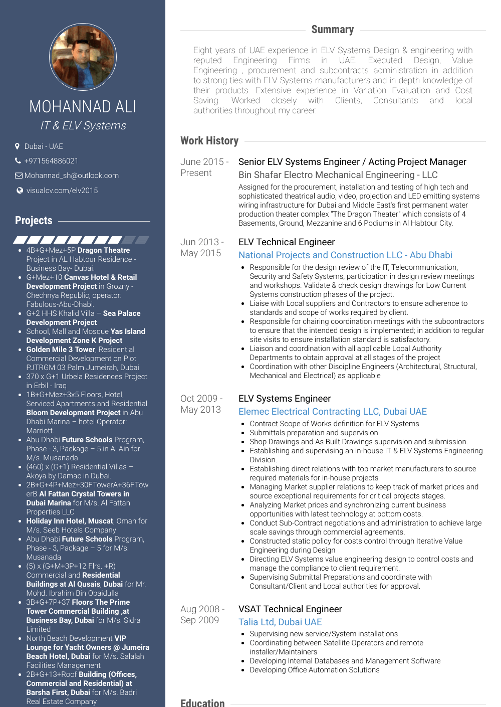 devops cv sample