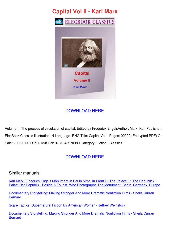 capital volume 1 pdf