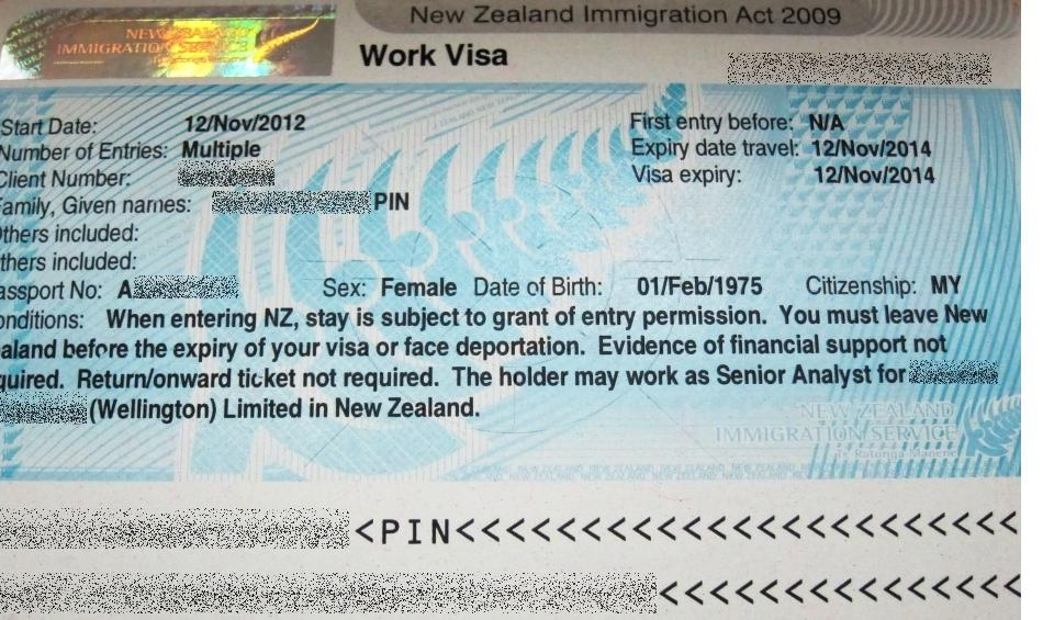application form permanent residency nz