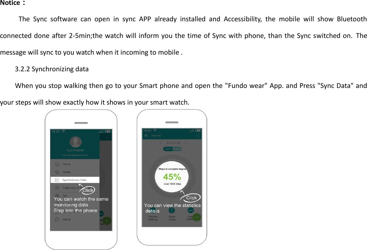 bt smart watch manual