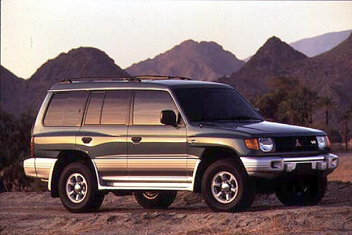 1996 pajero owners manual
