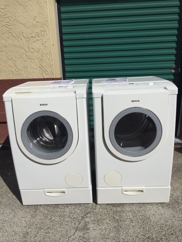 bosch serie 6 washer dryer manual
