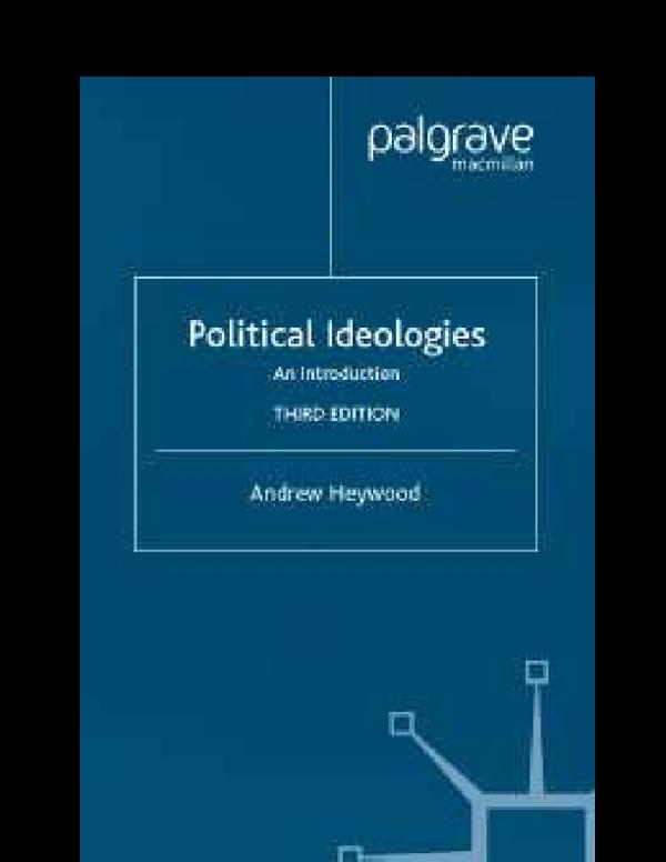 andrew heywood politics pdf