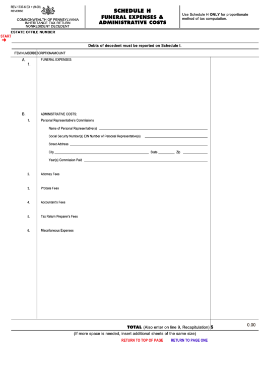 administrative expenses list pdf
