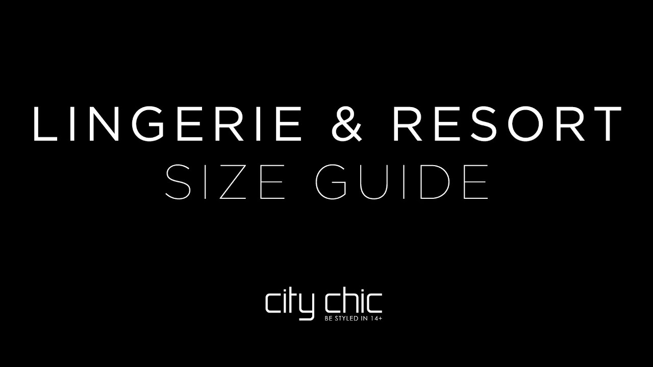 city chic size guide