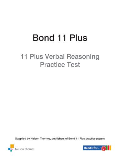 11 plus verbal reasoning papers pdf