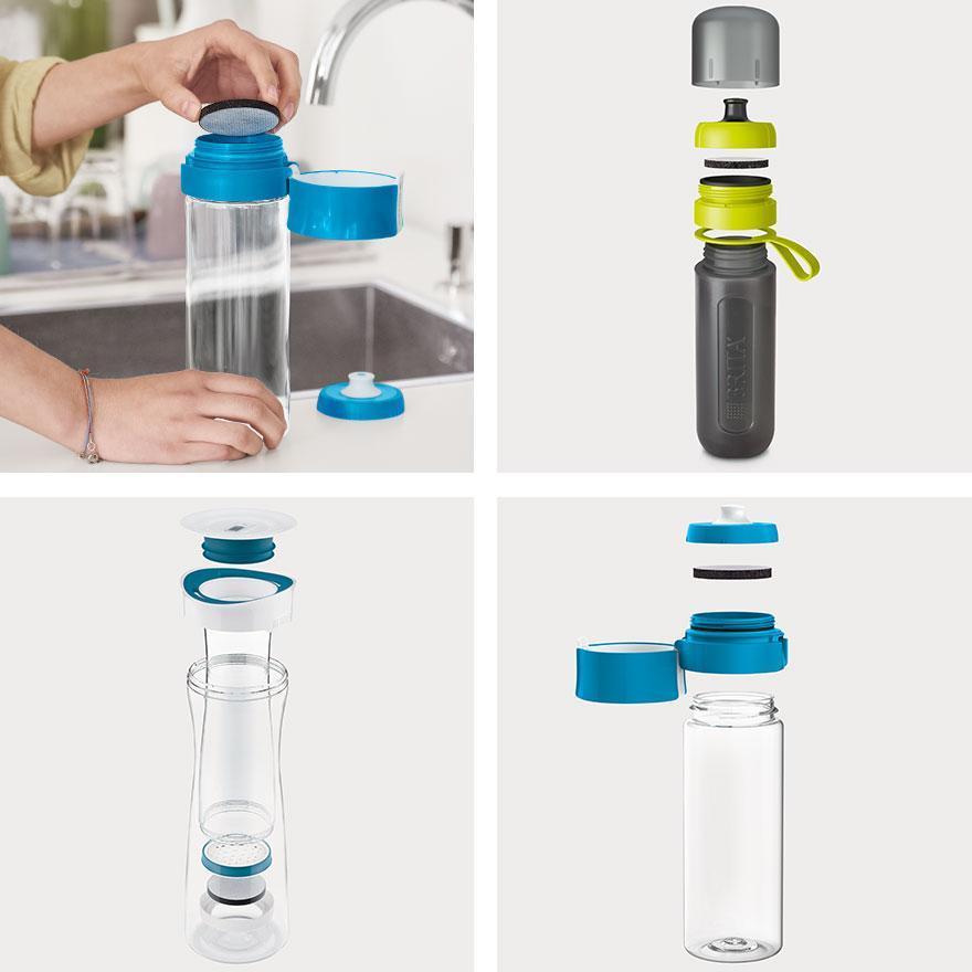 brita water bottle instructions