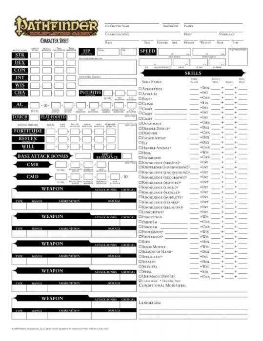 d&d 3.5 character sheet editable pdf