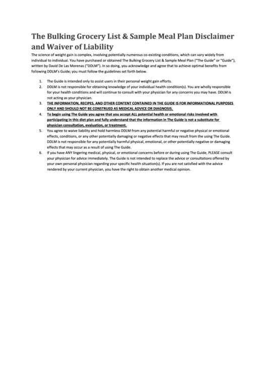 bulking meal plan pdf