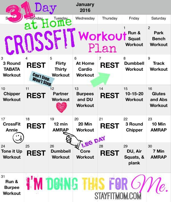 crossfit workouts for beginners pdf