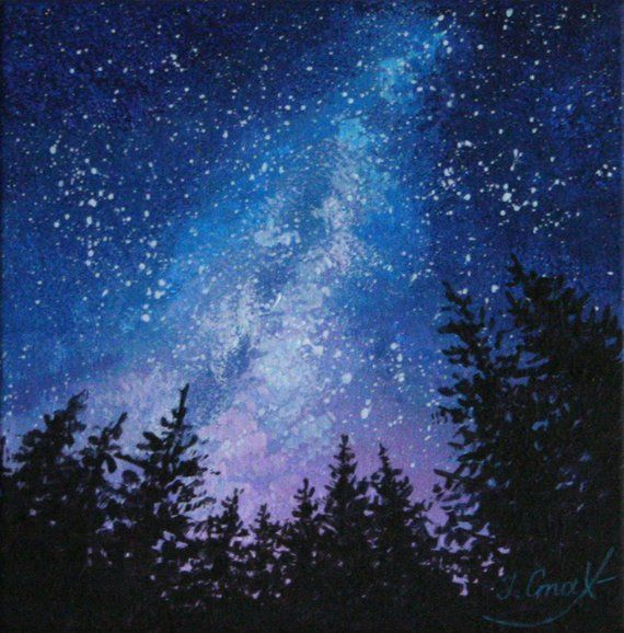 acrylic sky paintinf guide