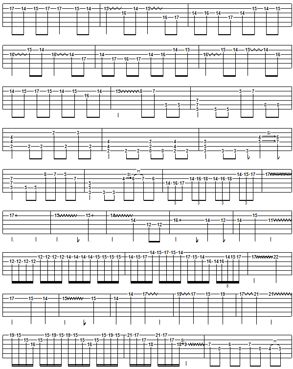 canon in d easy guitar tab pdf