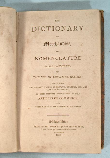 dictionary merchandize