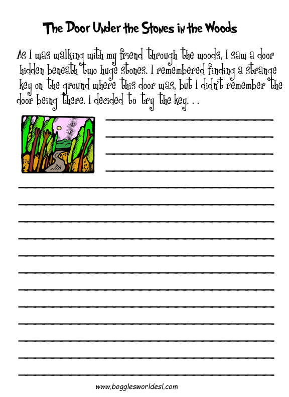 creative writing exercises for adults pdf