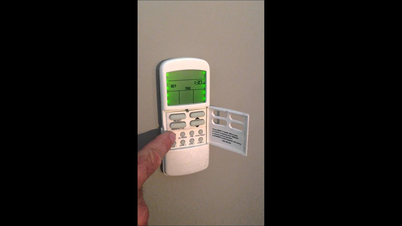 braemar spectrolink controller manual