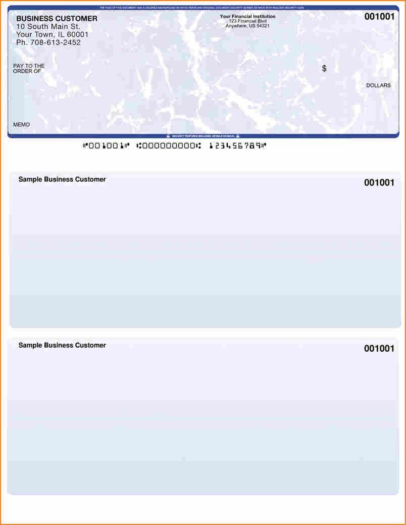 check printing template pdf
