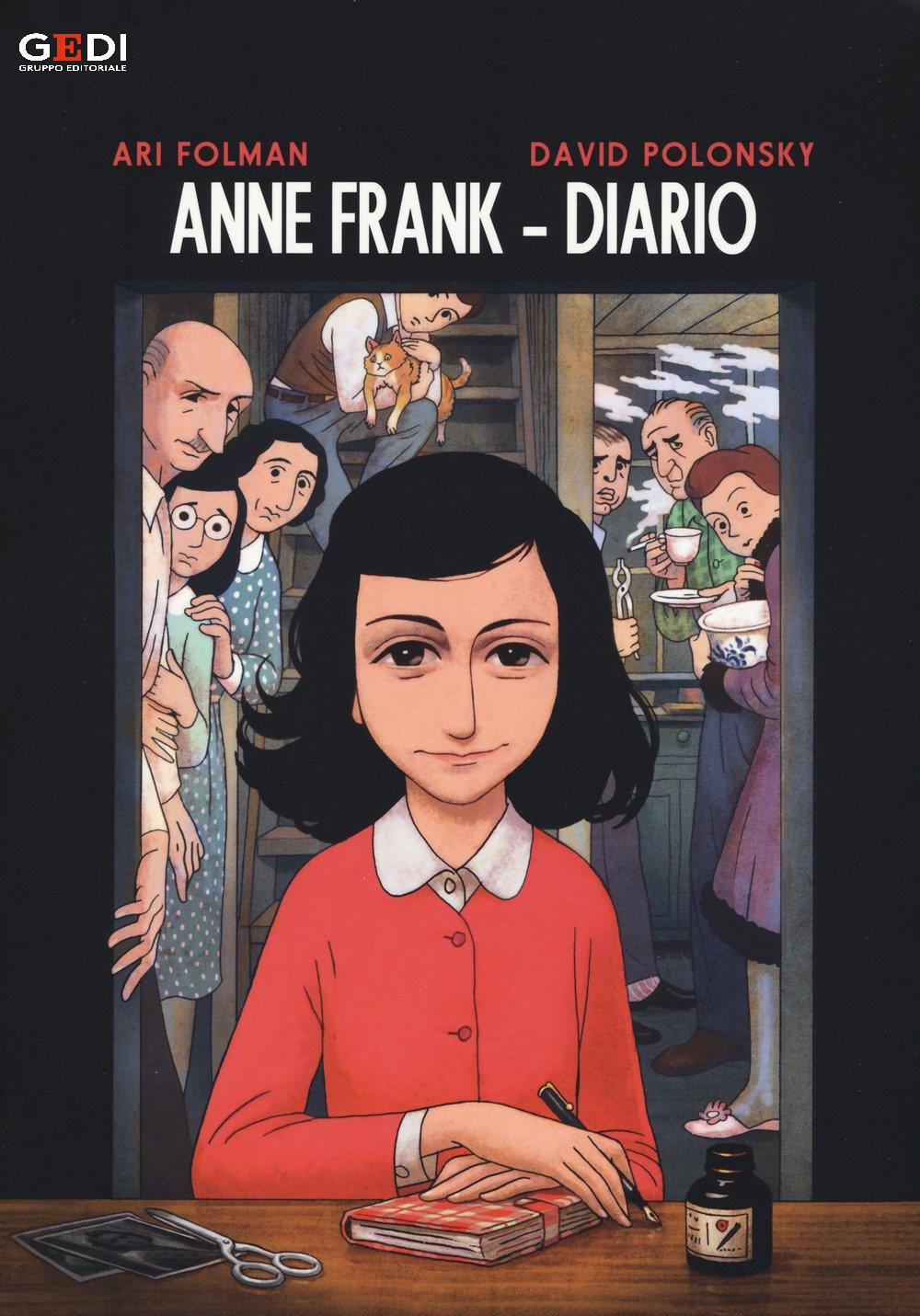 anne frank graphic novel pdf