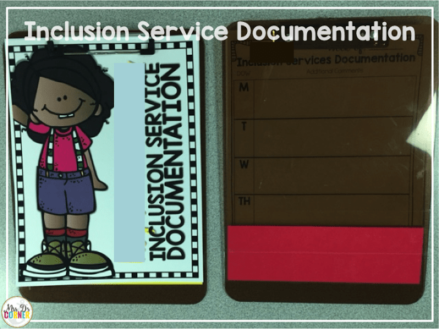 documentation by inclusion nursing