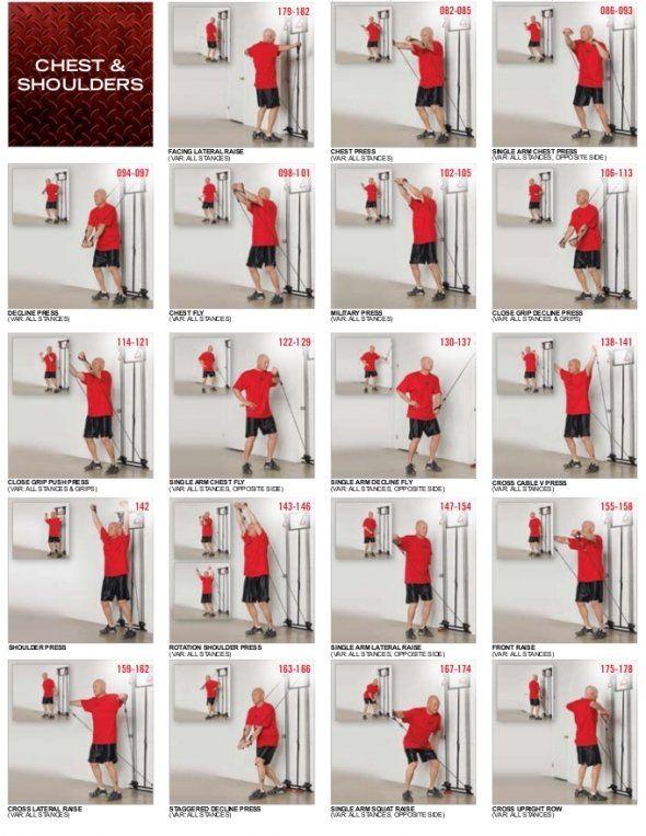 cable machine workout routine pdf