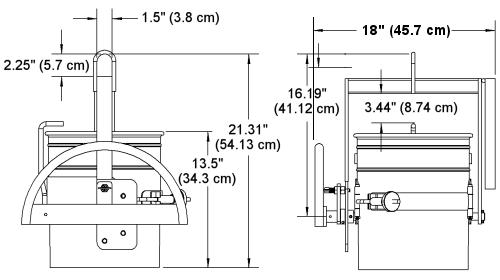 55 gallon drum dimensions pdf