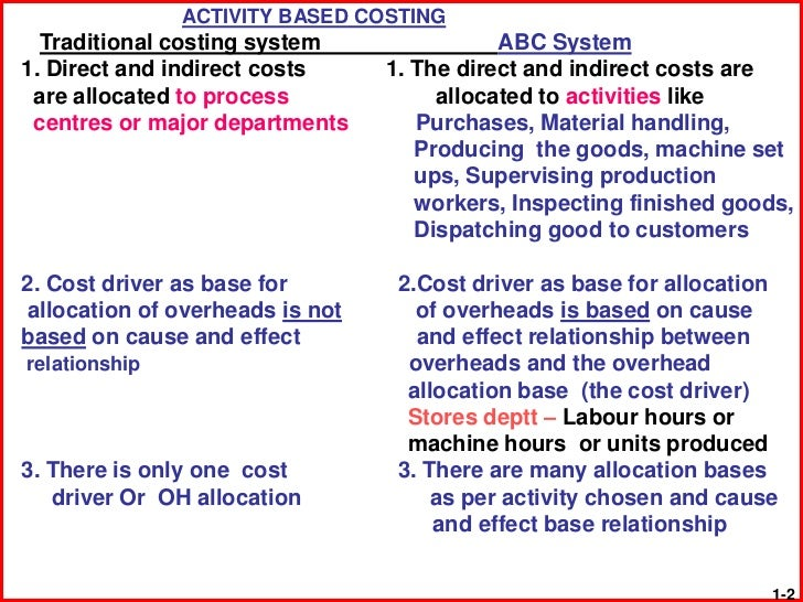 abc vs traditional costing pdf