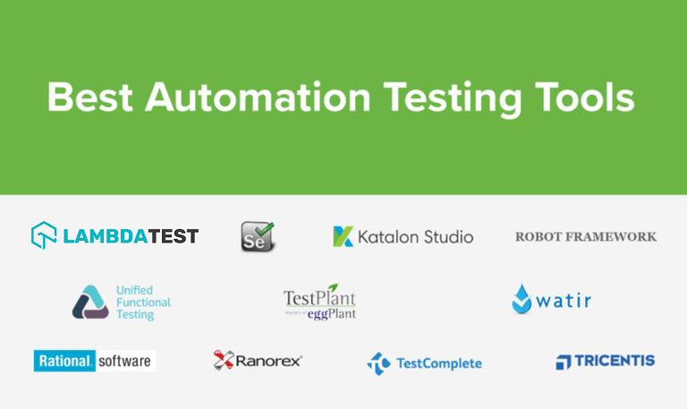 automation testing tools pdf