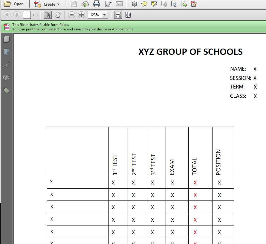 acrofields pdf