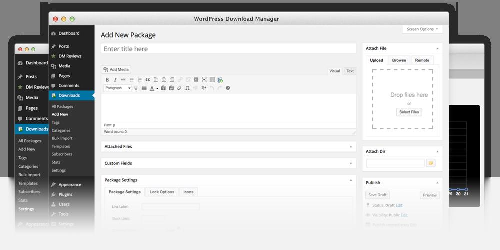 add pdf download to wordpress