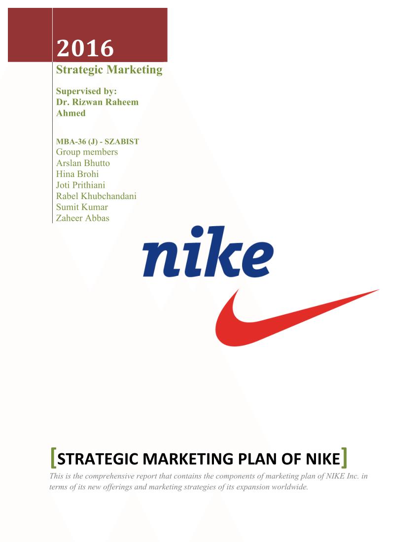 adidas marketing plan pdf