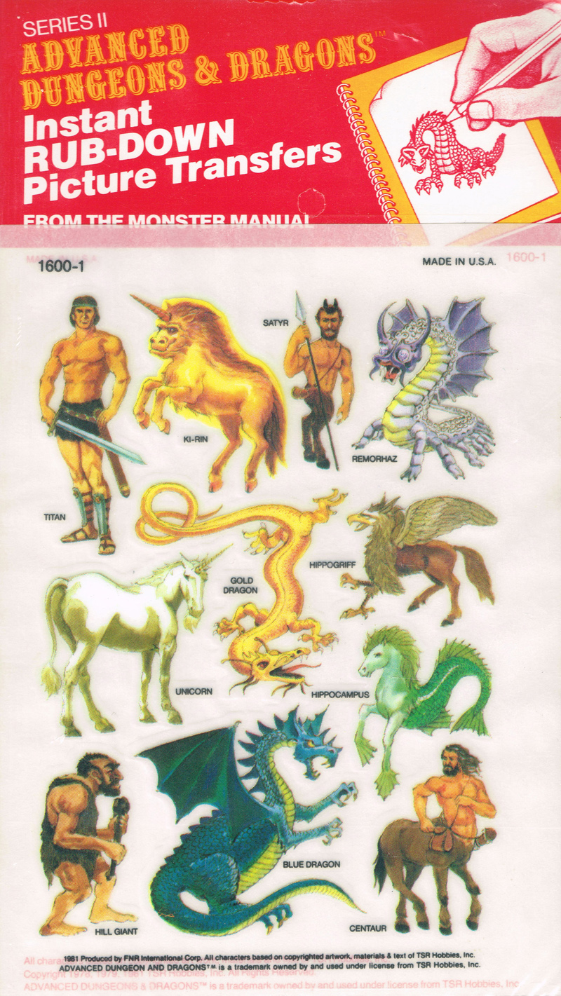 advanced dungeons and dragons monster manual 1977