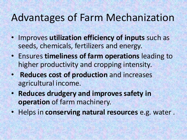advantages and disadvantages ict in agriculture pdf