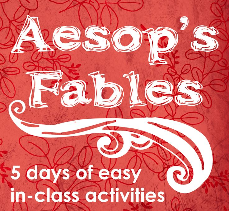 aesop fables pdf