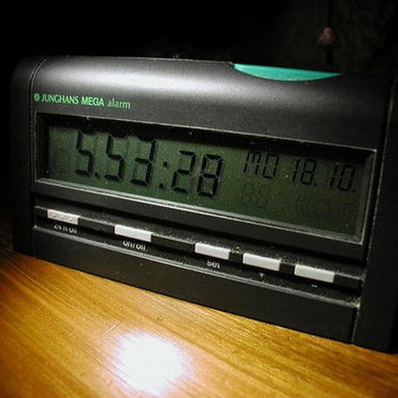 alarm clock instructions