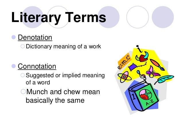allegory dictionary of literary terms