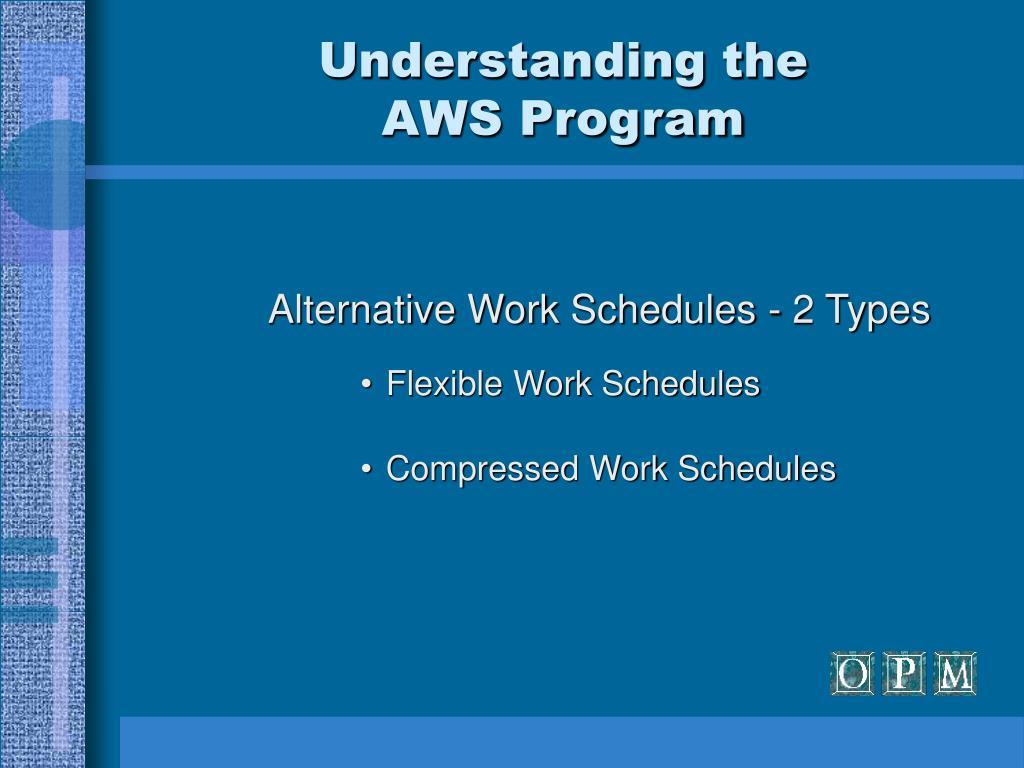 alternative work schedule application