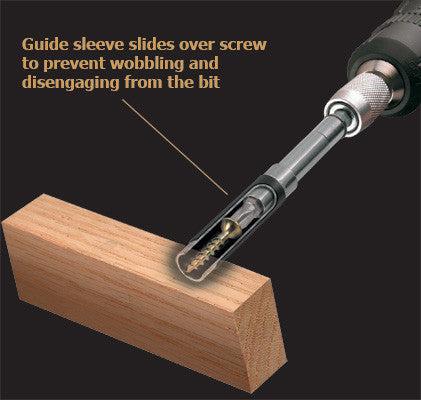 angle screw guide