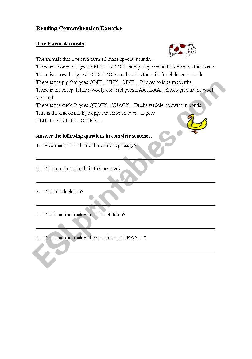animal farm test your comprehension pdf