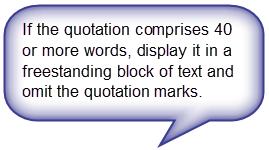 apa block quotating guide nz