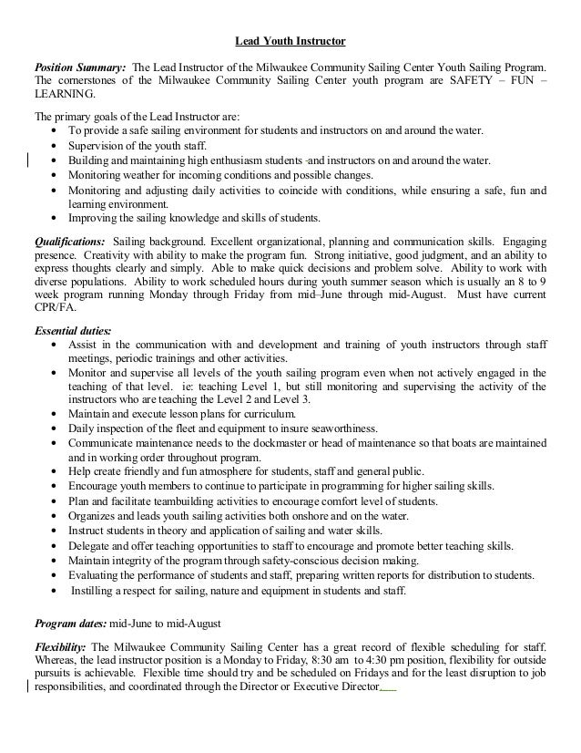 application development lead job description