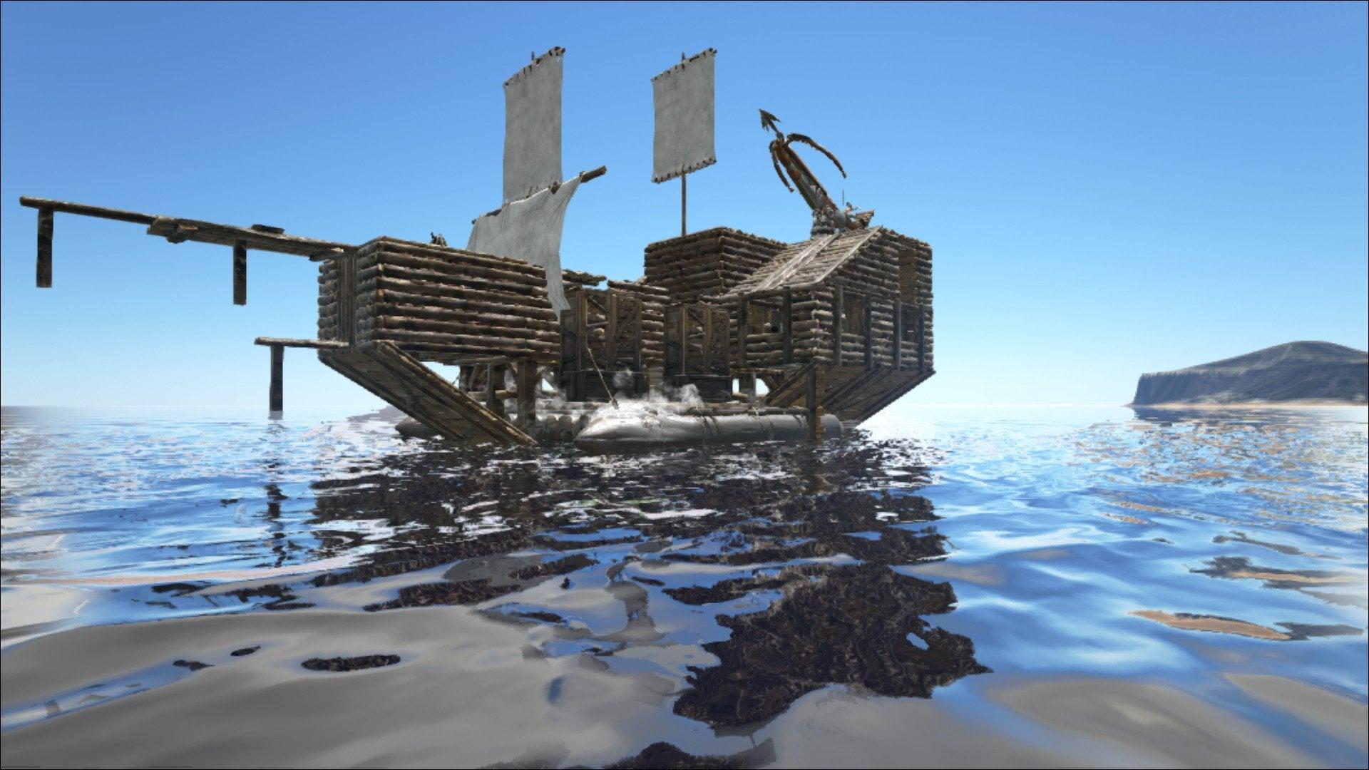 ark taming raft guide